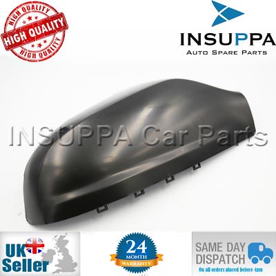Color Negro XuBa Tapa para Espejo retrovisor Derecho para Opel Astra H 04-09