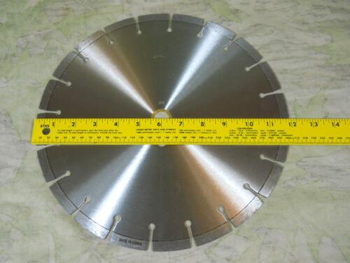 "Diamond saw blade Segmented 12/"" arbor 3//4/"" and 1/""   K71L1265"