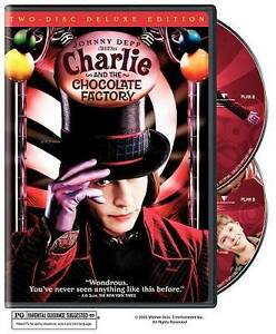 Charlie-and-the-Chocolate-Factory-DVD-2005-2-Disc-Set-Widescreen-Deluxe-Edition