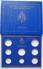 EURO KMS Folder Vatikan Vaticano 2007 - leer - ohne Münzen
