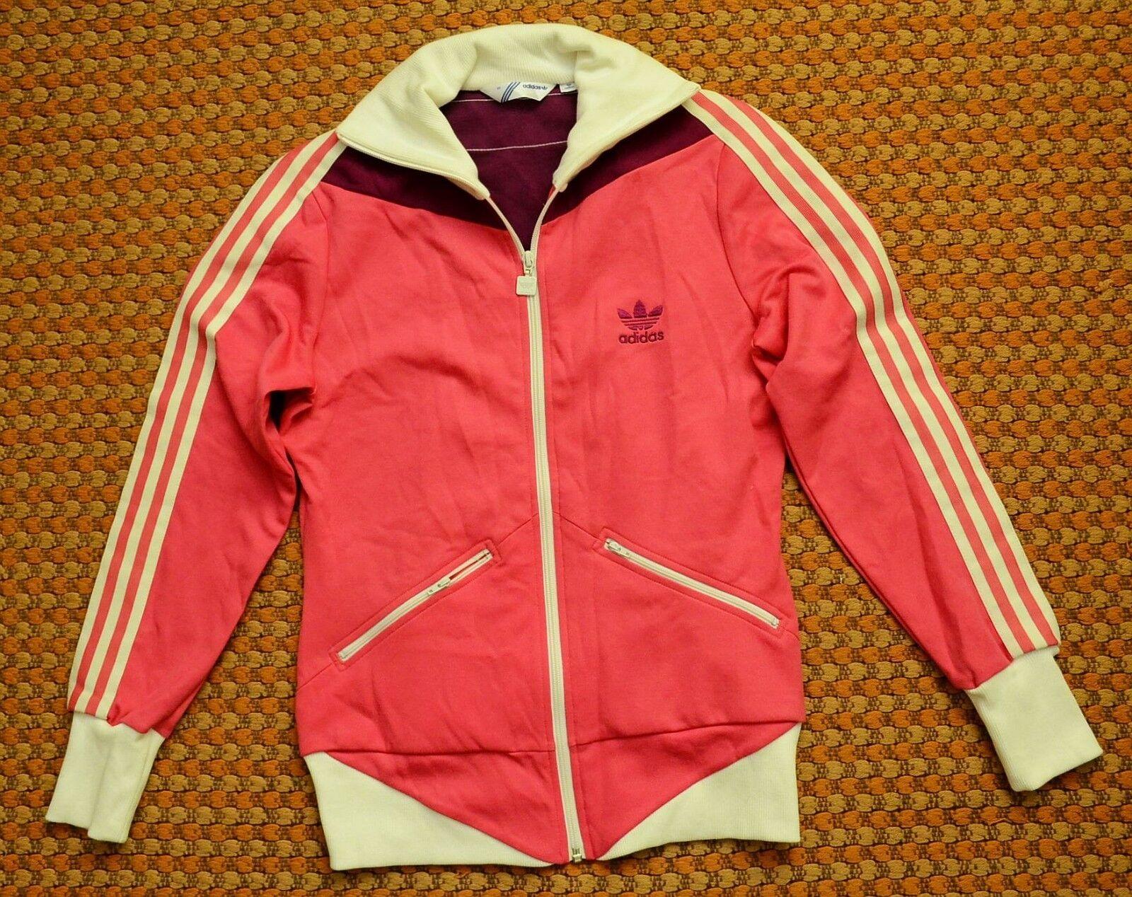 adidas originaux, des des des femmes est rose - blanc - Violet sweat - shirt, taille 40, moyenne 1203dc