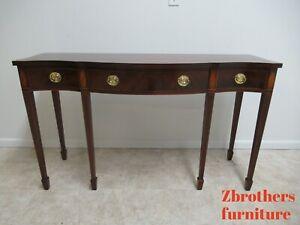 Baker-Furniture-Historic-Charleston-Mahogany-High-Leg-Sideboard-Buffet-Credenza