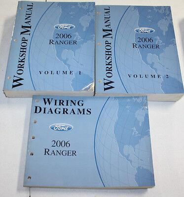 2006 ford ranger manual  wiring diagram  ebay
