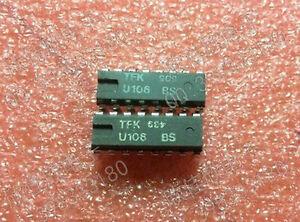 1pcs New U106BS U106 BS U 106BS DIP-16 DIP16 Ic Chips Replacement