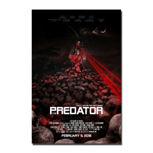 The Predator 2018 Movie Art Canvas Poster Print 12x18 24x36inch