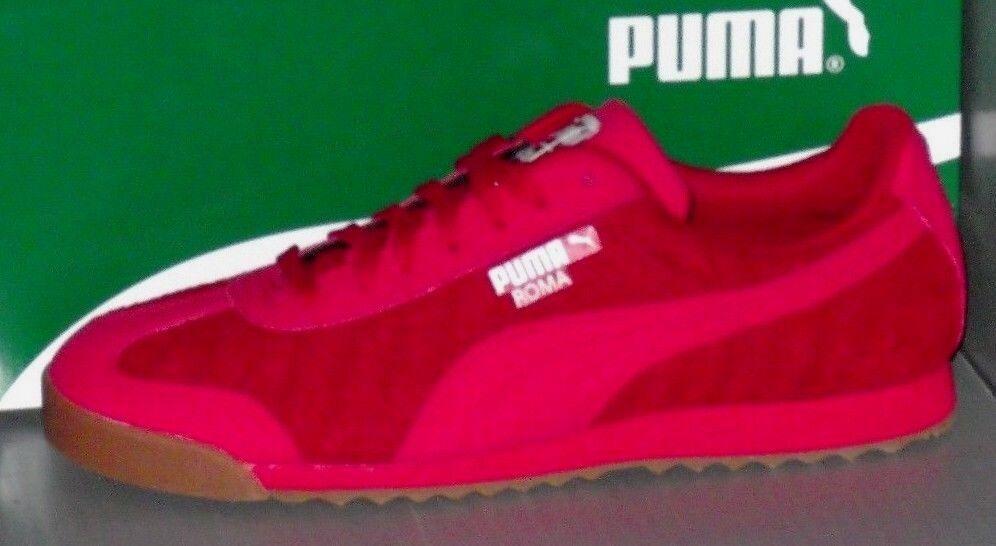 Hombre en Puma Roma tejer actualizacion en Hombre colores Barbados CherryRojo/ Puma blanco tamaño 11,5 a8c1cb