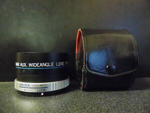 Sakar-Aux-Wide-Angle-Lens-For-AF35MII-With-Case