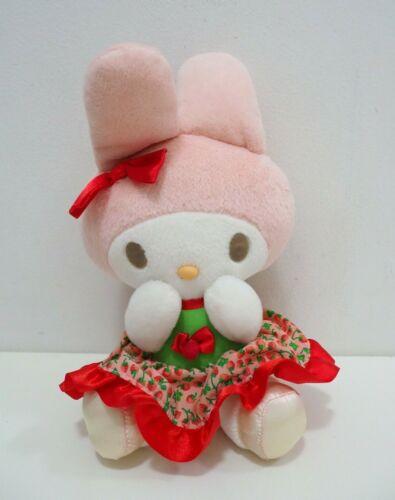 "My Melody Strawberry Red Dress Sanrio Eikoh 2004 Plush 8/"" Toy Doll Japan"