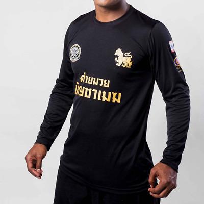 Boxing Buakaw Banchamek Team Longsleeves Micro T-Shirt Muay Thai
