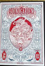 Soundgarden Mini Concert Poster Reprint 2013 Birmingham UK Gig 4x10