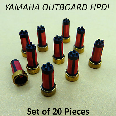20 HPDI Yamaha Outboard Fuel Injector Filter Baskets LZ Z 150hp 175hp 200hp