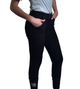 2 Toned Full Seat Microfiber Breeches for Ladies