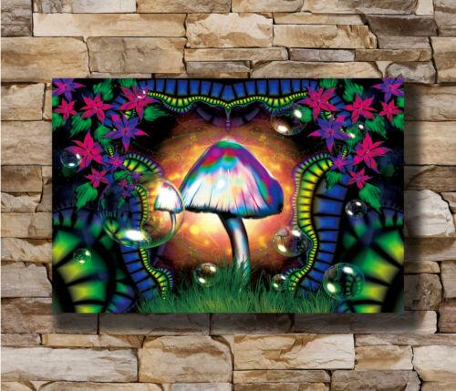 Hot Magic mushroom New Art Poster 40 12x18 24x36 T-599
