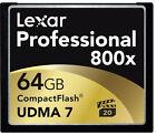 Lexar CF Card 64 GB 800 X Professional UDMA