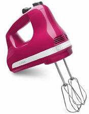 Item 2 New KitchenAid Made In USA 5 Speed Ultra Power Hand Mixer Khm512CB  Cranberry  New KitchenAid Made In USA 5 Speed Ultra Power Hand Mixer  Khm512CB ...