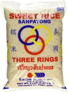 Thai Sticky Rice (Sweet Rice) 5 Lbs 83737147651 | eBay