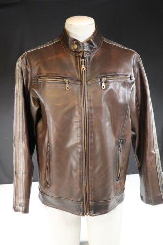 VTG Cafe Racer Vinyl Jacket Coat