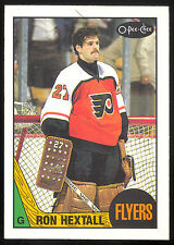 1987 88 OPC O PEE CHEE HOCKEY #169 RON HEXTALL RC NM PHILADELPHIA FLYERS RC