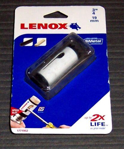 "Lenox Tools 1771952 3//4/"" Bi-Metal Speed Slot Hole Saw"