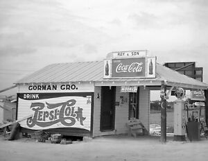"Durham North Carolina Vintage Old Photo 8.5/"" x 11/"" Reprint 1940 Gas Station"