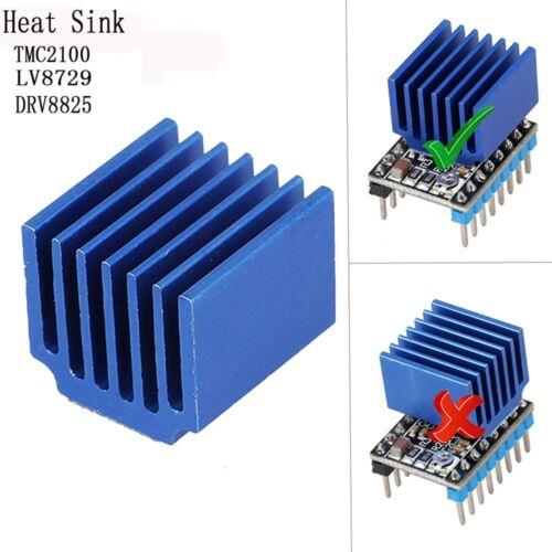 Stepper Motor Driver Heat Sink For DRV8825 LV8729 TMC2100 3D Printer Parts