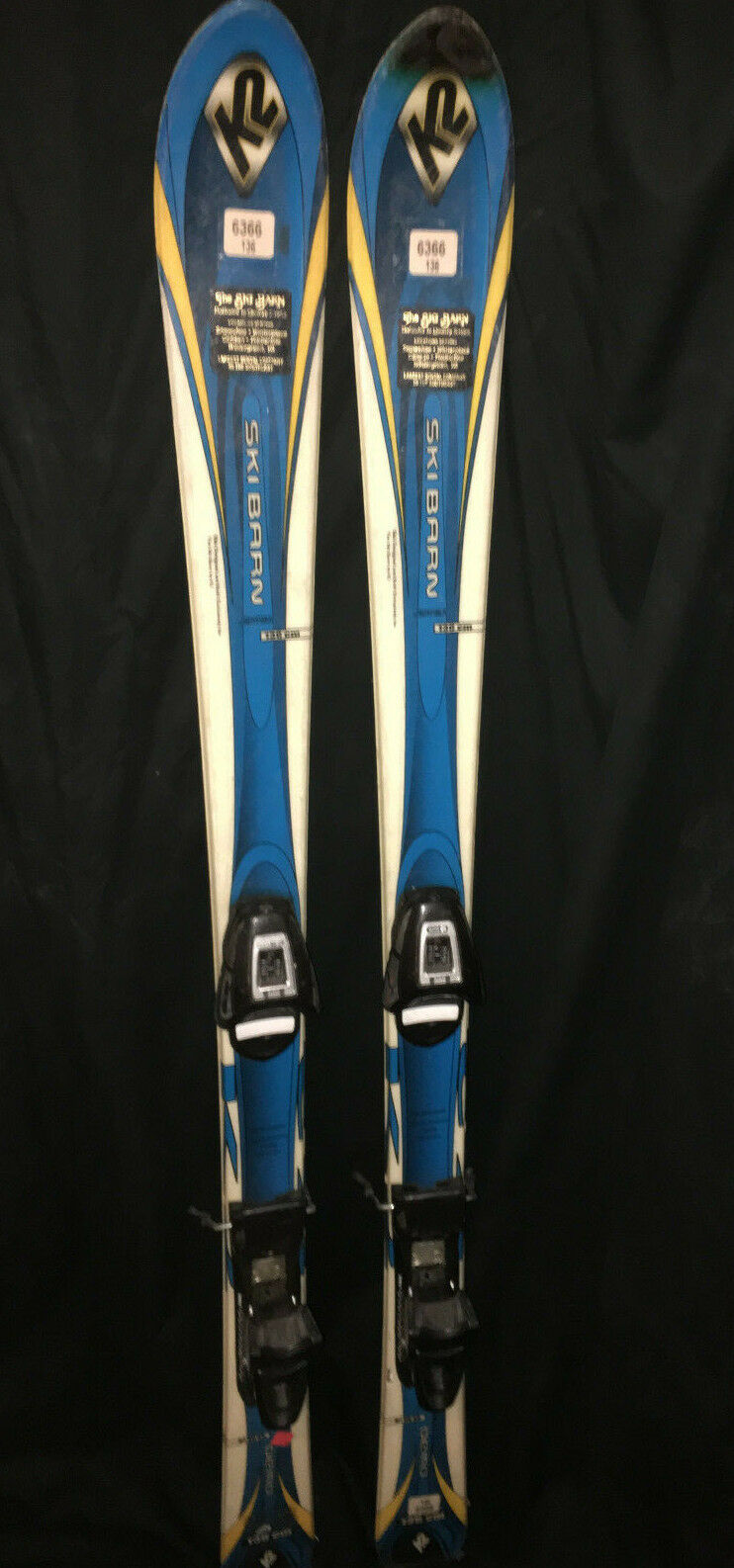 K2  snow  136 Skis w  Salomon c509 Fully Adjustable Demo Bindings downhill volkl  new products novelty items