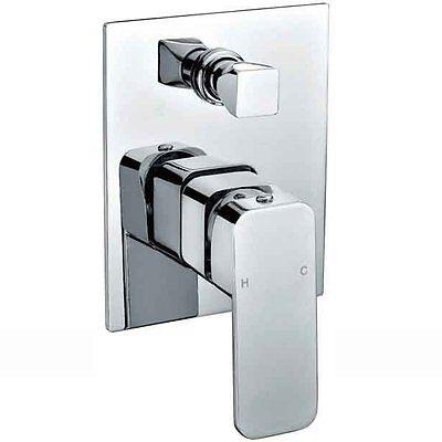 Curva New Design Shower  / Bath / Wall Mixer & Diverter Tap / Faucet