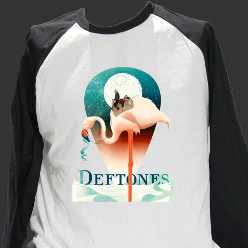 DEFTONES METAL ROCK T-SHIRT faith no more BASEBALL LONG SLEEVE S-3XL