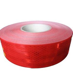 3-50-m-5m-x-5-5cm-3M-Scotchlite-983-Reflexband-rot-Reflexfolie-5-Meter-Rolle