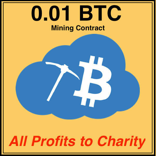 0.01 Bitcoin(BTC) CRYPTO MINING CONTRACT No pool, Direct To Your Wallet .01 BTC 1