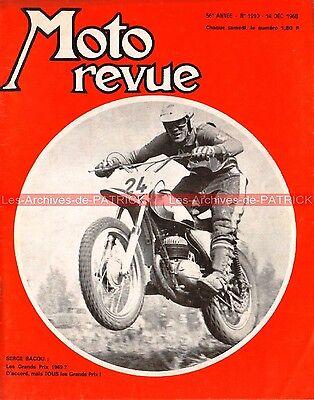 MOTO REVUE 1910 TRIUMPH 750 TRIDENT ; VELOCETTE STORY ; HONDA CB 450 1968