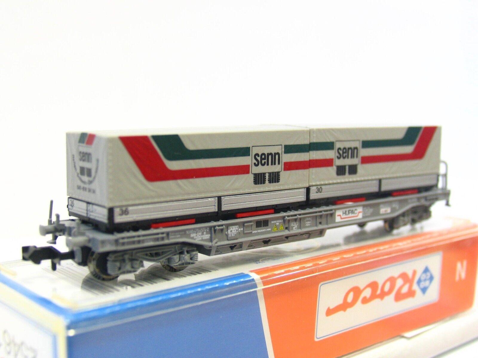 Roco N 25461 Einheitstaschenwagen Senn Hupac SBB CFF OVP (RB142)