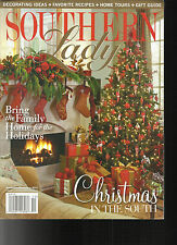 SOUTHERN LADY MAGAZINE,    NOVEMBER / DECEMBER, 2013    CHRISTMAS IN THE SOUTH
