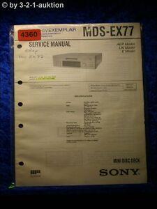 Sony-Service-Manual-MDS-EX77-Mini-Disc-Deck-4360