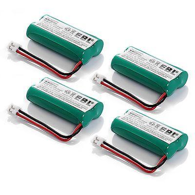4 Pack 900mAh Battery For Vtech CS6209 CS6219 CS6229 DS6121 6322 DS3101 DS6111
