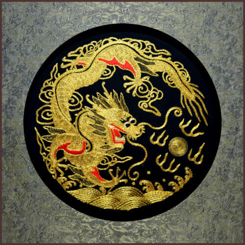 Grace Art® Large Asian Silk Embroidery Art Wall Hanging