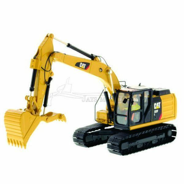 CATERPILLAR 323F L EXCAVATOR WITH THUMB - 1 50 Scale Diecast Masters 85924