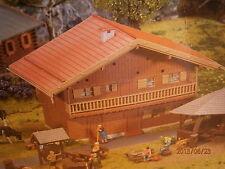 Faller H0 275 Alpenhaus Enzian mit Holzverschalung und Balkon Bausatz NEU