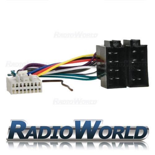 Panasonic 16 Pin Stereo Radio mazo de cables ISO Conector Cable de adaptador telar