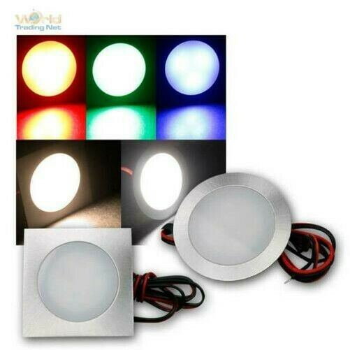 Fine LED Éclairage Encastré Inox 12V 0,5W IP67 Sagace / Spot Encastré Spot