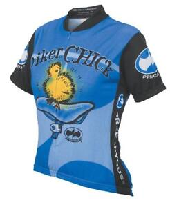 Chick on a Bike Womens Cycling Jersey Biker Chick