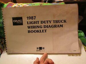 [DIAGRAM_0HG]  1987 GMC Truck Light Duty Truck Wiring Diagram Booklet by GMC Truck | eBay | Light Duty Truck Wiring Diagrams 1987 |  | eBay