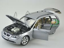 1/18 KYOSHO Model BMW 545i 5-series touring Wagon Hatchback Silver Grey 2012