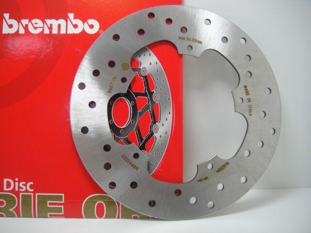 DISCO DE FRENO TRASERO BREMBO 68B40776 PIAGGIO X9 EVOLUTION 250 2004 2005 2006