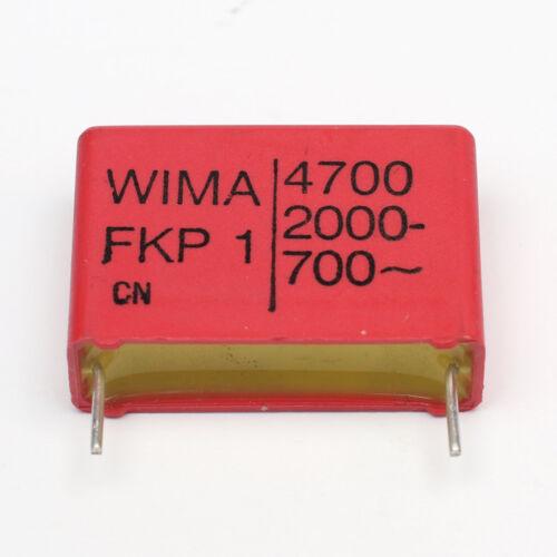 Polypropylene Film Capacitor WIMA FKP1 /& FKP2 Series PP CAPACITORS PP