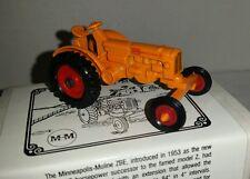 1/64 ERTL farm toy spec cast agco mm minneapolis moline zbe wf tractor htf! nib!