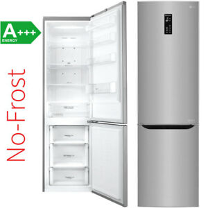 LG GBP20PZQFS A+++ No-Frost Stand Kühl-Gefrierkombination Edelstahl Kühlschrank
