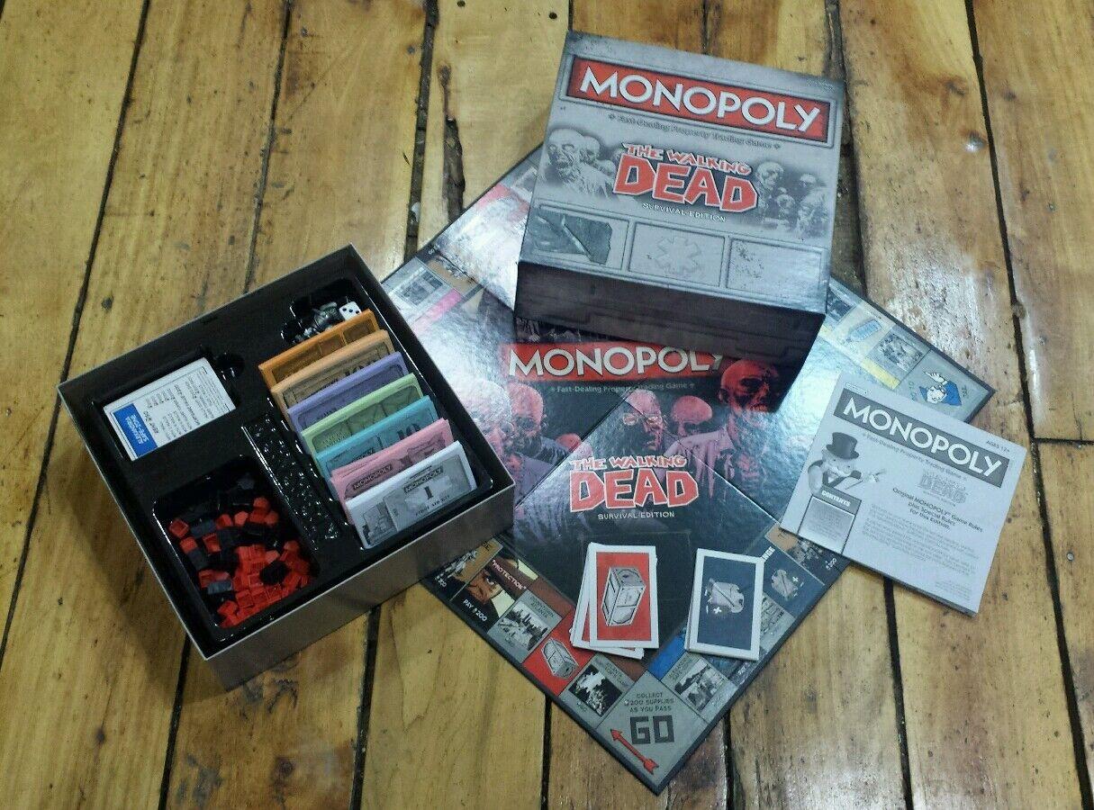 Monopoly   The Walre Dead - Survival edizione (tavola gioco) twd comics completare   essere molto richiesto