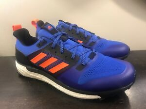 50e19d5c28f07 Adidas Men s Supernova Boost Blue Athletic Hiking Trail Shoes Size ...