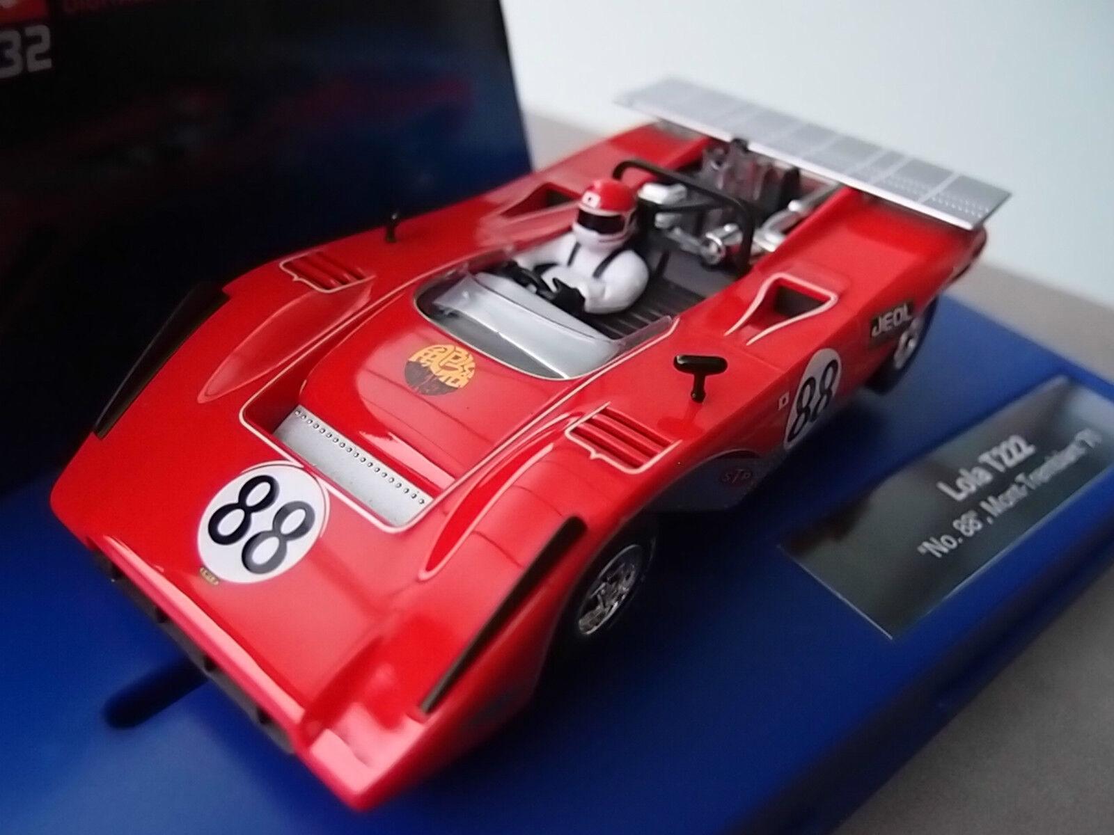 Carrera Digital 132 30653 LOLA T222  NO.88 , MONT-TREMBLANT '71 NEU OVP  | Bevorzugtes Material